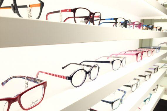 GeKo OPTIC - Brillen - Fassungen im Geschäft in Bisamberg